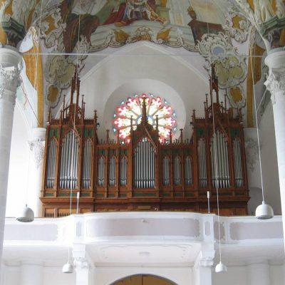 Sterzing Pfarrkirche Gebrüder Mayer 1911  Überholung