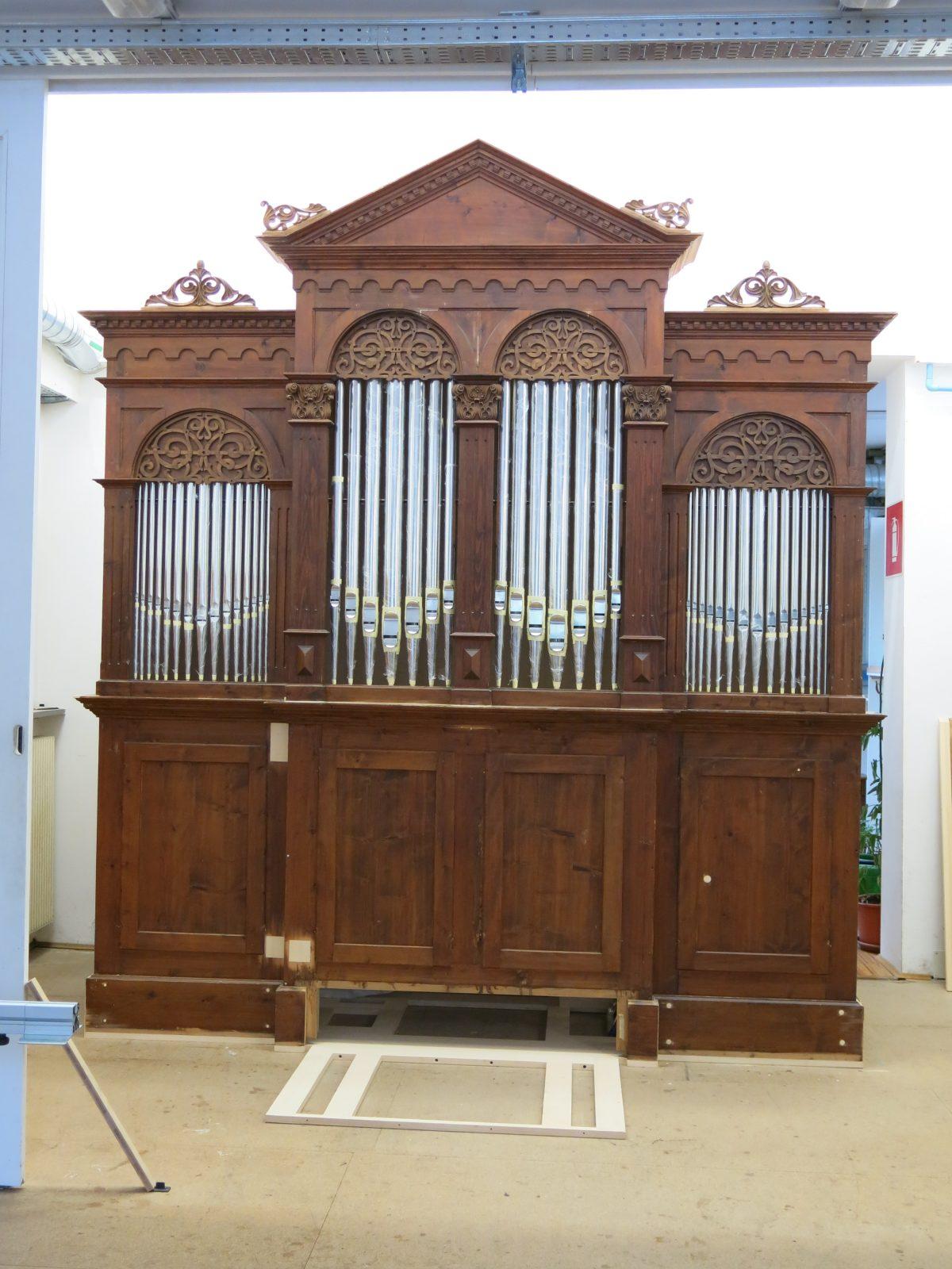 Neue Orgel für Katharinaberg